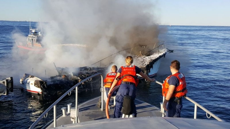 What is the Requirement of Fire Extinguisher on a Boat