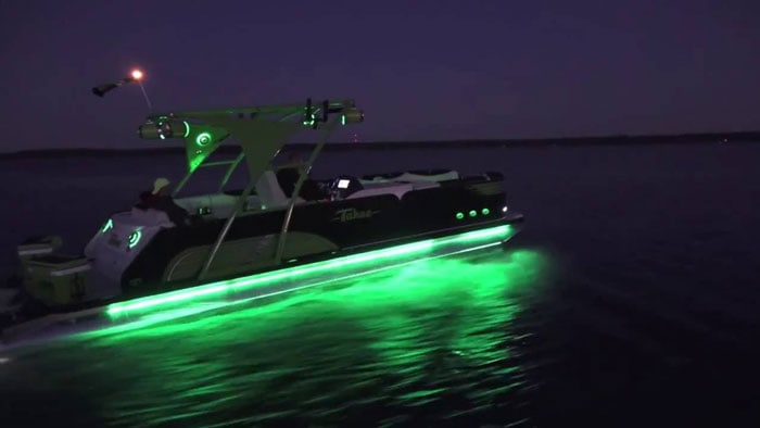 LED-Pontoon-Boat
