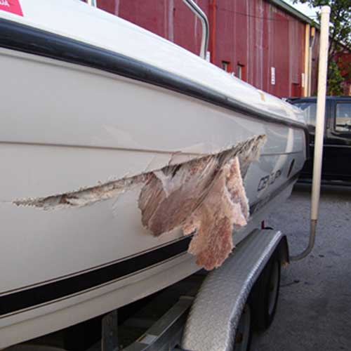 How to Repair a Fiberglass Boat