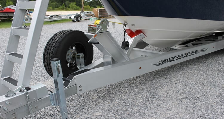 How to Mount a Spare Tire on a Boat Trailer