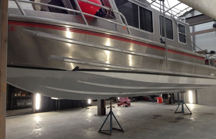 How to paint aluminum boat