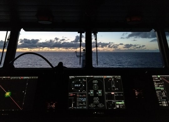 Working as deck officer