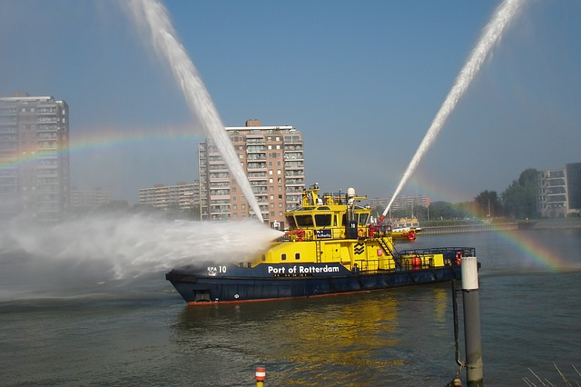 What to Do if a Fire Breaks Out in the Front of Your Boat